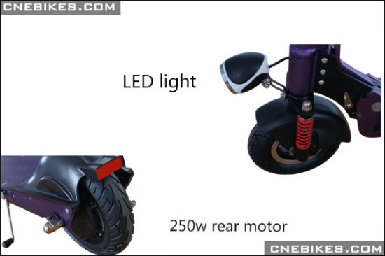 36V 250W Aluminum Alloy Mini Scooter pictures & photos