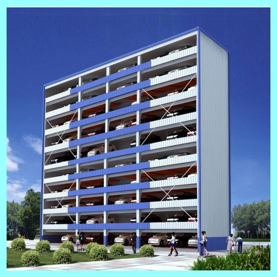 Automated Tower Puzzle Parking Hydraulic Parking Lift pictures & photos