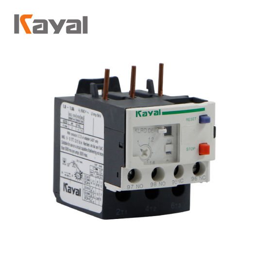 Thermal Overload Electric Relay Max 630A 220V AC Relay