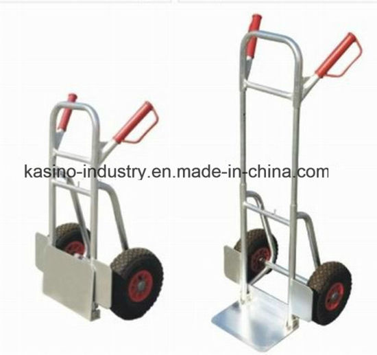 Manufacturing Aluminium Folding Hand Trolley Cart (High quality&Competitive Price)