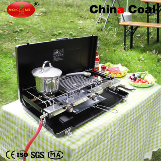 Hot Sale Fordable Outdoor 3 Burner LPG Gas Stove pictures & photos