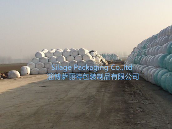Silage Bale Plastic for Wrapping UV 16-24month pictures & photos