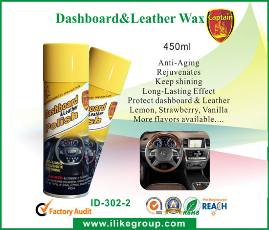 Aeropak Dashboard & Leather Wax pictures & photos