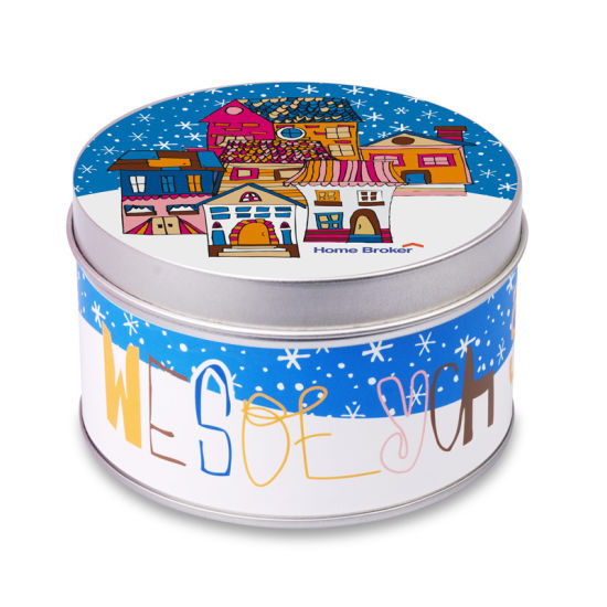 Round Tin Bakery Boxes Free Shipping