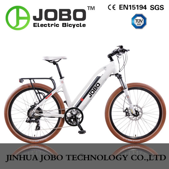 2017 New Crank Sensor 700c Ladies Mountain Road Commuter Electric Bicycle pictures & photos