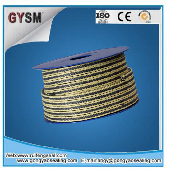 Virgin Material PTFE Graphite+ Aramid Fiber Packing pictures & photos