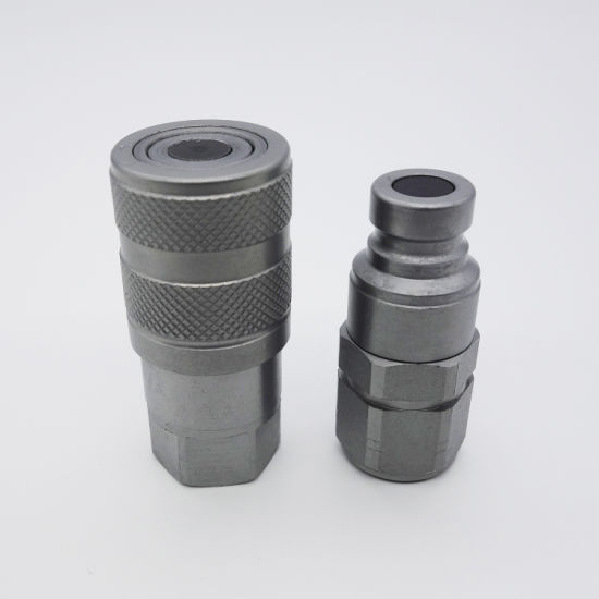 Quick Connect Couplings Nipple Flat Flush Face 1/4 NPT