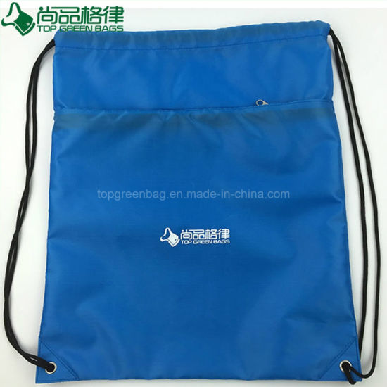 Gym Drawstring Backpack Bulk Pull String Bag For Promotion