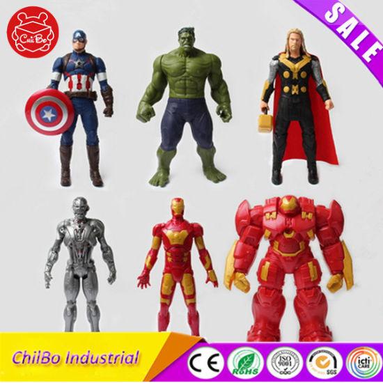 china the avengers cartoon characters pvc model figures toys china