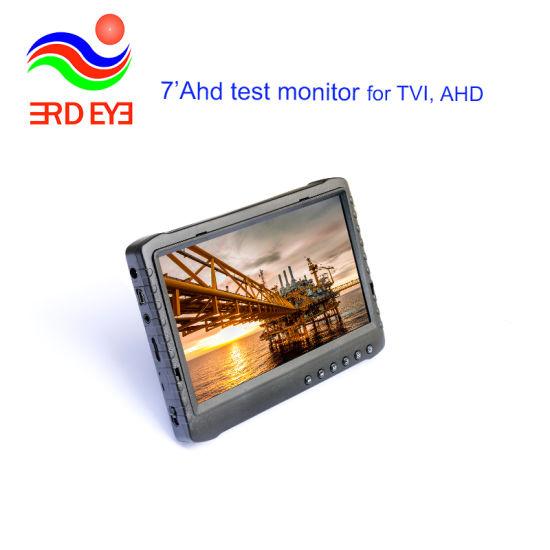 Portable 1080P Full HD Ahd Test Monitor 7 Inch DVR Ds-908