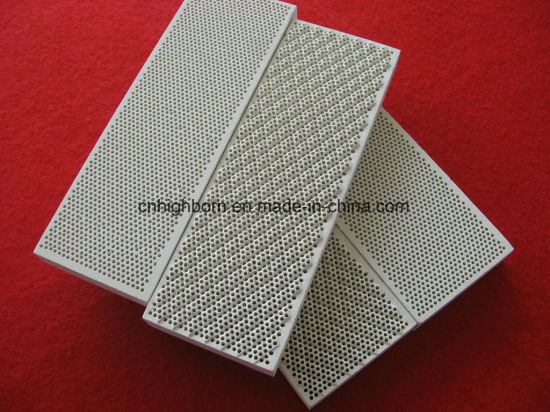 Infrared Cordierite Ceramic Honeycomb Plate Heater pictures & photos
