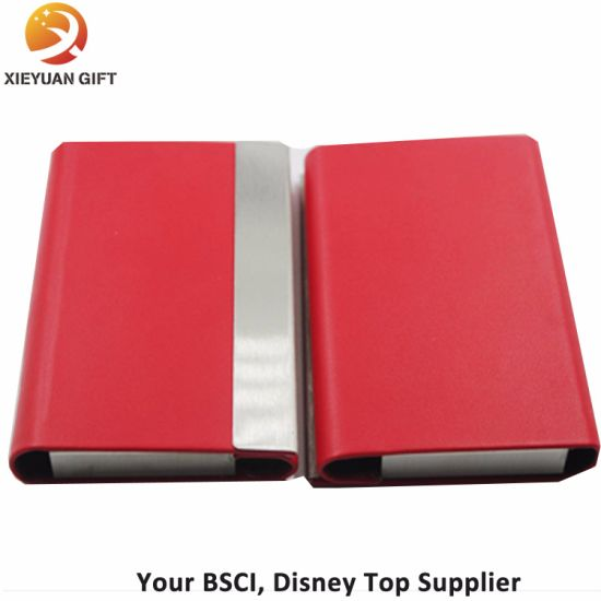 China red leather business card holder metal name card id china red leather business card holder metal name card id reheart Gallery