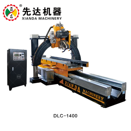 china xianda automatic roman pillar slot cutting machine roman slot