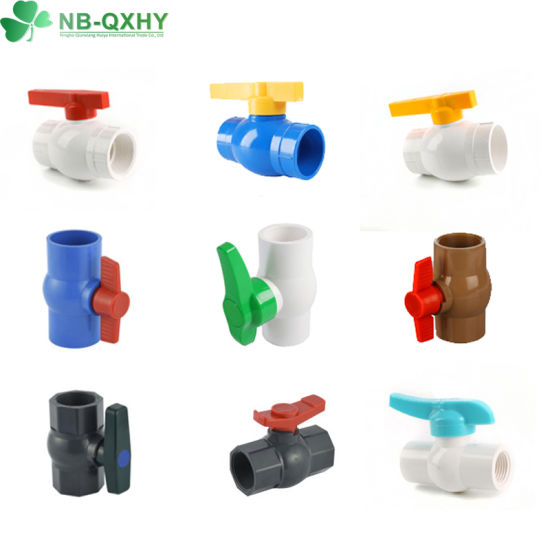 Good Quality and Better Price Plastic Products Control Valve PVC Compact Octangle Ball Valve