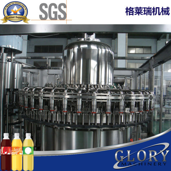 High Quality Glass Bottle Fruit Juice Filling Machine pictures & photos