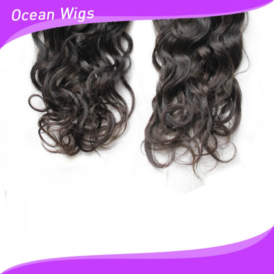 Beautiful and Top Quality Human Remy Mexcico Curl Hair Weft pictures & photos