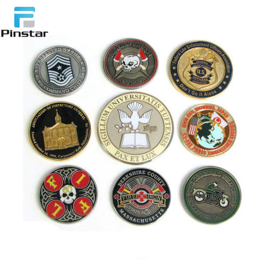 Making Your Own Design Die Struck Soft Enamel Challenge Coins pictures & photos