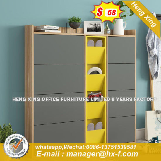High Quality Stylish Metal White Plated Storage Cabinet (HX-8ND9371) pictures & photos