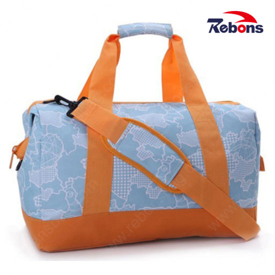 Cheap Custom Fashion Low Price Practical Sports Travel Bag with Customized Pattern