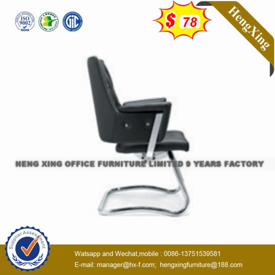 SGS Approve Office Furniture Leather Conference Vistor Chair (NS-N24C)
