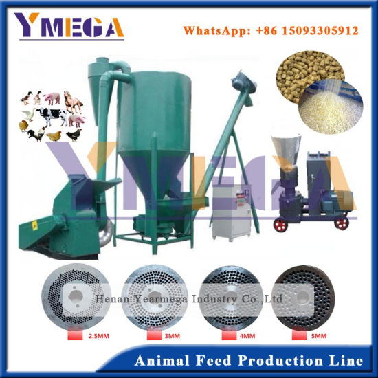 Newest Best Choice Complete Feed Pellet Line From China pictures & photos