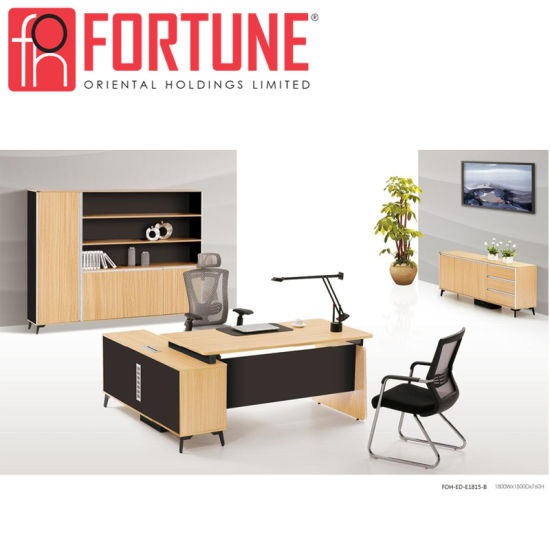 Fashion Movable High Tech MFC Executive Office Desk (FOH ED E1815 B)