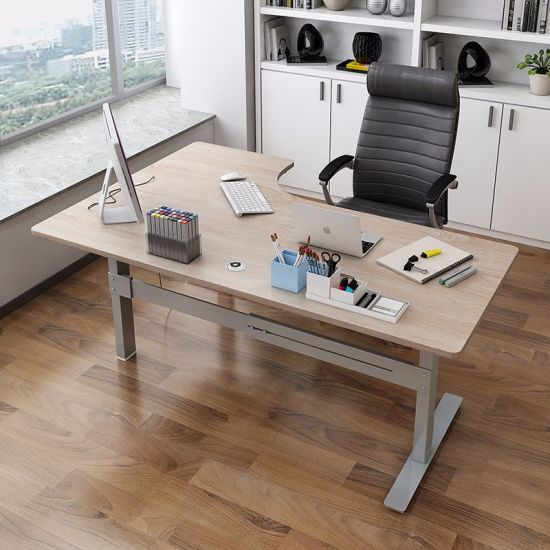 china electric sit and stand office furniture computer desk china