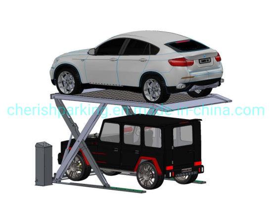 Zero Post Auto Scissor Parking Lift