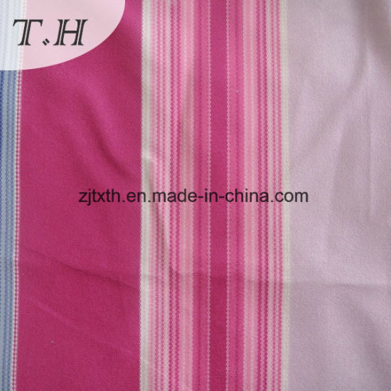 Rainbow Stripe Knitted Fabric Supplier pictures & photos
