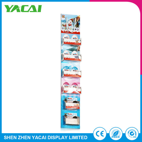Unfolded Indoor Paper Retail Exhibition Stand Wholesale Display Rack pictures & photos
