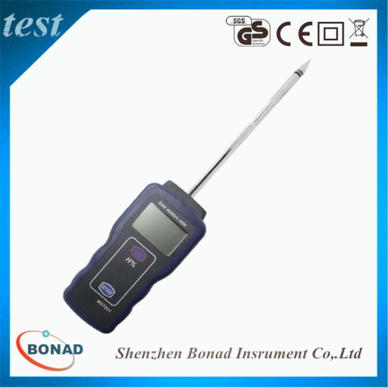 MD7821 Grain/Rice/Wheat Moisture Meter with 200mm Probe for Agriculture pictures & photos