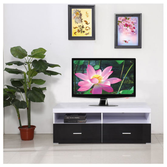 China Latest Design Wooden Lcd Tv Unit Pictures China Tv Stand