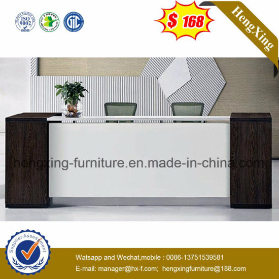 Leather Triangle Meeting Room Square Reception Table (HX-5DE185) pictures & photos