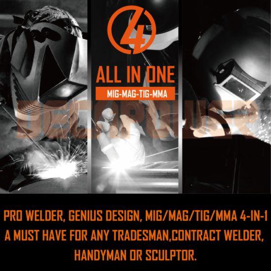 China Gas/Gasless MMA TIG Mag MIG Welder DC Inverter Welding