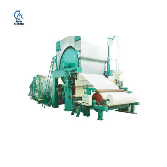 Rice Straw Cylinder Mould Small Toilet Paper Making Machinery