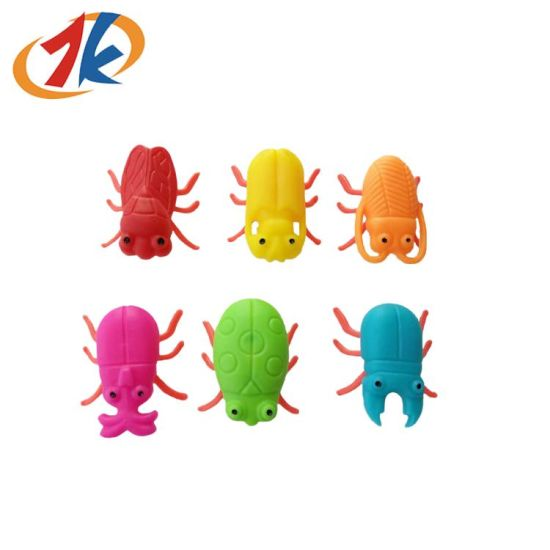 Mini Colorful Plastic Insects Toy with Cheap Price