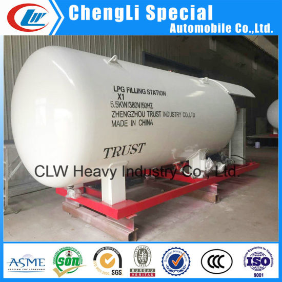 8000liters/8cbm Propane Storage Tanker for LPG Gas Tank Price