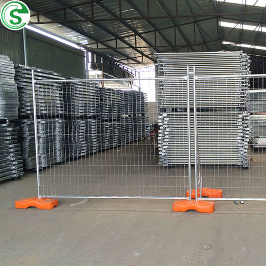 HDG 60*150mm Australia Temporary Fence for Public Safety Security