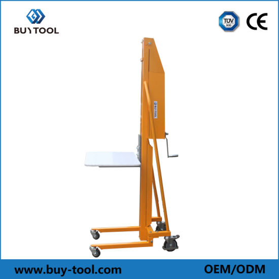 Economical Manual Winch Lift Operation with Automatic Brake