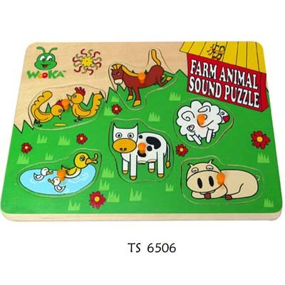 Children Plywood Wooden Toys Puzzle pictures & photos