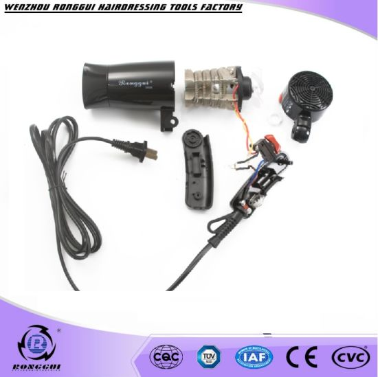 Foldable Feature and Household Use Hooded Hair Dryer