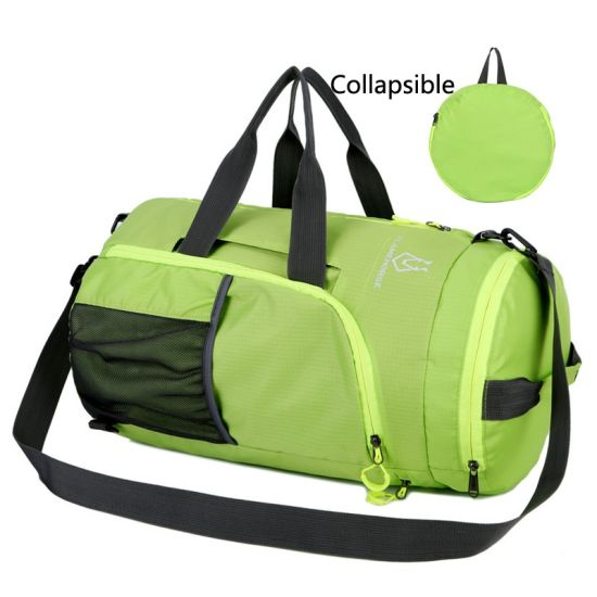 7a1858a86 Super Polyester Nylon Folded Lightweight Foldable Travel Bag with Custom  Logo