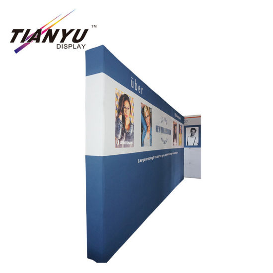 3X3 Pop up Stand Curved Straight Trade Show Promotion Booth Pop up Display Stand