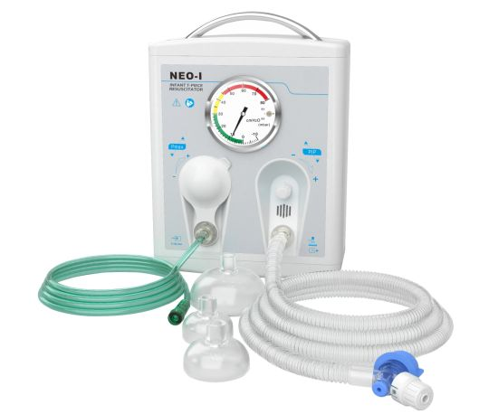Medical Infant T-Piece Resusitation, Newborn Resuscitation with Mask and Tube, Neonatal Equipment pictures & photos