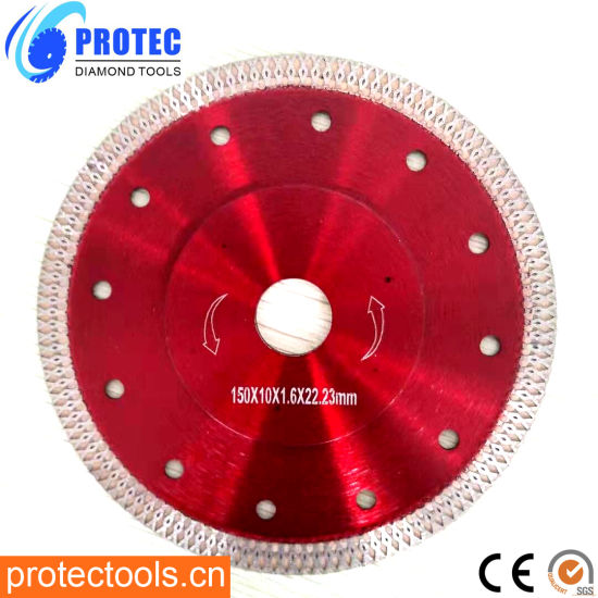 Hot Pressed Turbo Blade&Turbo Diamond Saw Blade Cutting for Porcelain, Ceramic Tile and Stones