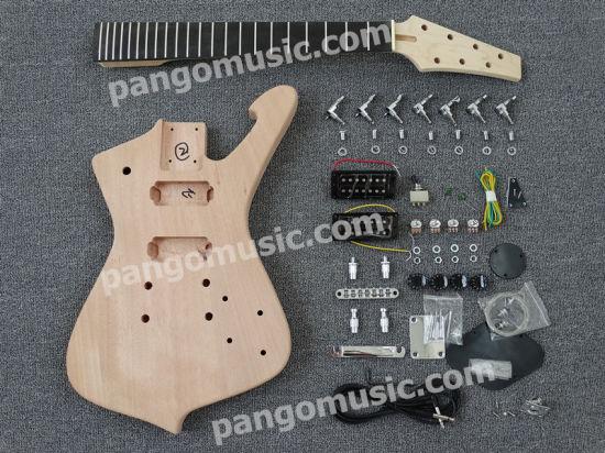 Pango Music 7 Strings Iceman Diy Electric Guitar Kit Pim 319k