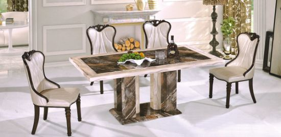 Modern Design Marble Table Top Dining Chair Good Quality