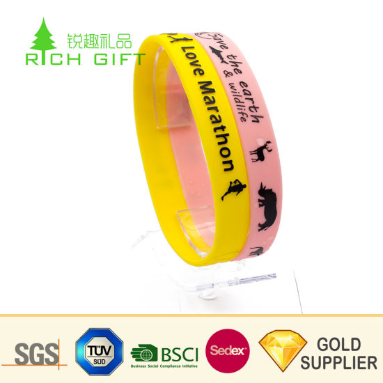 Made in China Custom Cheap One Time Use Disposable RFID Wristband Bracelets for Events pictures & photos