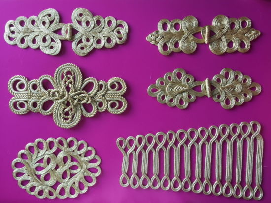 Traditional Handmade Chinese Knot Frog Closure Button fastener Trimming Decoration