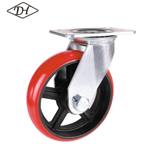 4'' Medium Duty Swivel Caster Without Brake (41 series)